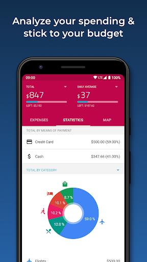 TravelSpend -  Track Travel Expenses & Trip Budget 1.8.10 screenshots 4
