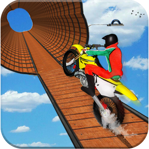 Impossible Bike Stunt Games 2018 3D: Tricky Tracks (game)
