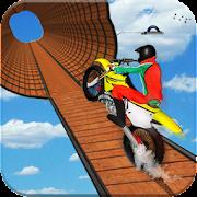 Impossible Bike Stunt Games 2018 3D: Tricky Tracks