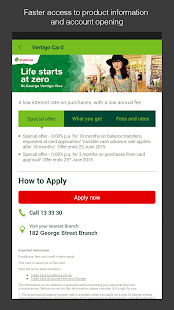 St.George Mobile Banking - screenshot thumbnail