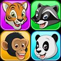 Memory game animals icon
