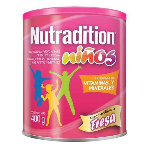 sumplemento nutricional nutradition ninos fresa 400g