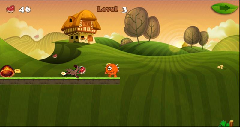 android Dog Running Adventure Screenshot 4