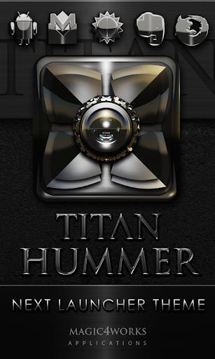 Next Launcher Theme Titan