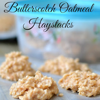 Butterscotch Oatmeal Haystacks