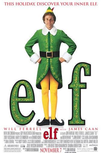 box cover of elf