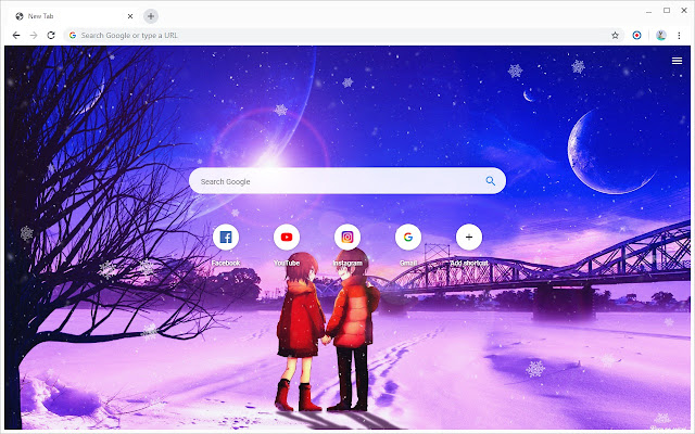 Erased Wallpapers New Tab