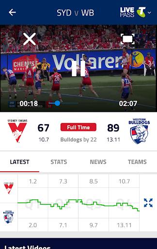 AFL Live Official App 04.07.40656 screenshots 2