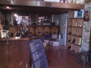 Photo: Corfu town's Cava, our local wine provider