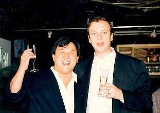 Photo: with Eric Tsang @ Canton Disco '88