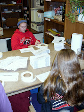 Photo: Volunteers from St. George School help mail our January 2013 newsletter