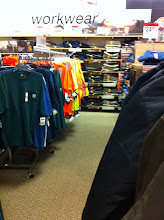 Photo: A workwear section? This is new!