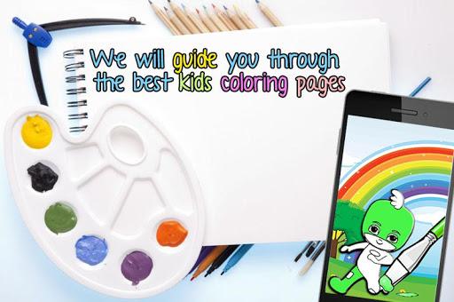 免費下載書籍APP kids color guide for pj mask app開箱文 APP開箱王