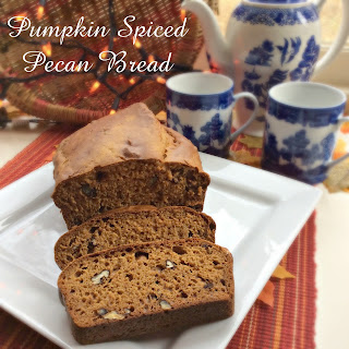 Pumpkin Spiced Pecan Bread