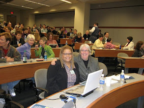 Photo: At ENC conference with first out lesbian elected in the state of Alabama, Patricia Todd.