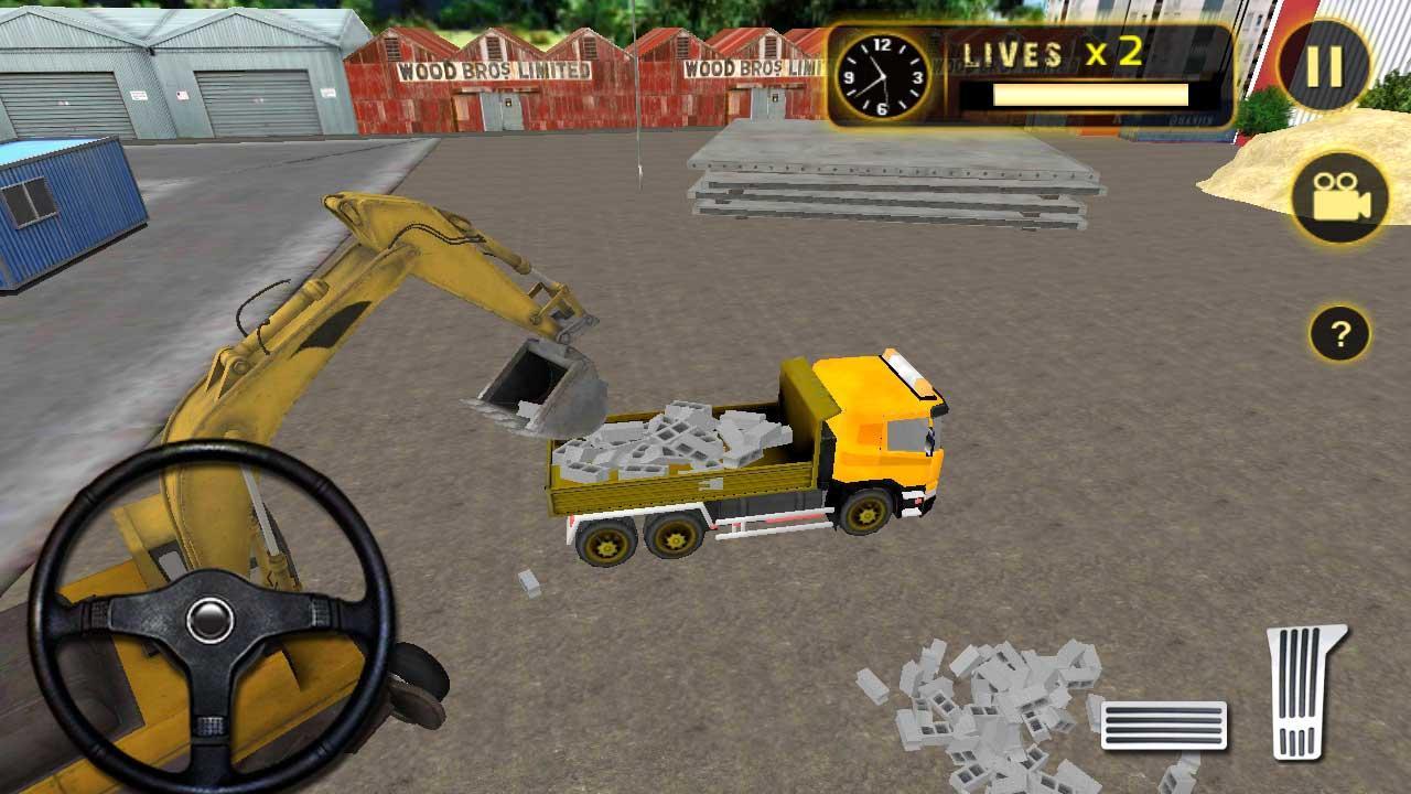 Real Excavator Games Real Heavy Excavator Crane 3d