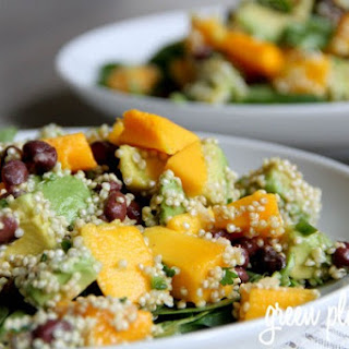 Mango Avocado Black Bean Salad