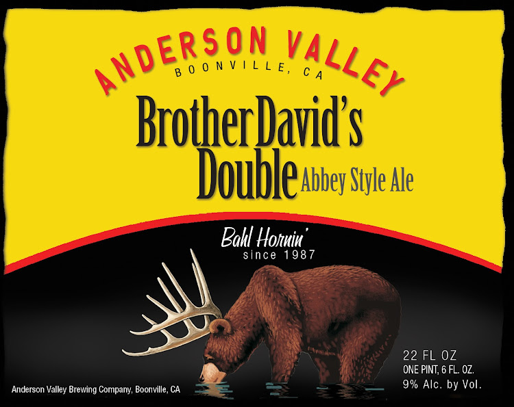 Logo of Anderson Valley Brother David's Double Abbey Style Ale