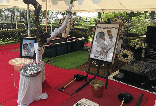 Grave diggers and cemetery attendants worked hard for several days to make the final resting place of Winnie Madikizela-Mandela the best it could be.
