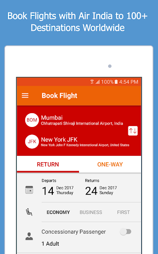 Air India screenshot 7