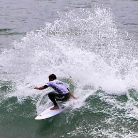 US Open Finals - Alejo Muniz by Scott Murphy - Sports & Fitness Surfing ( alejo muniz,  )