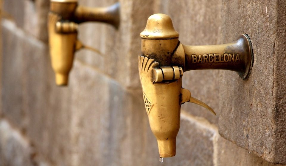 Barcelona Water Tap in Old Town