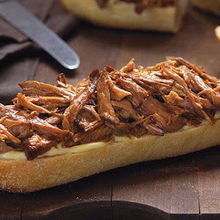 Slow-Cooker Orange-BBQ Pulled Pork Sandwiches