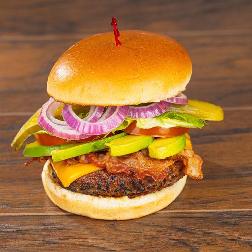Avocado Bacon Burger Combo