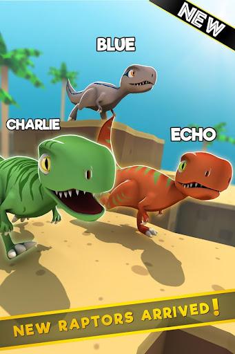 Jurassic Alive: World T-Rex Dinosaur Game screenshot 4