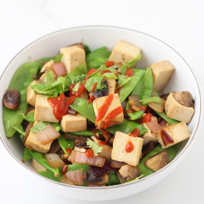 Snap Pea Tofu Stir fry Recipe | Yummly