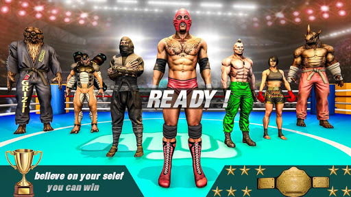 Bodybuilder Fighting Champion: Real Fight Games android2mod screenshots 3