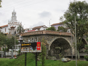 Photo: Puente Roto (other half washed away in a flood in the 50s)