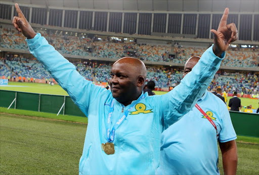 Mamelodi Sundowns Coach Pitso Mosimane. File photo.