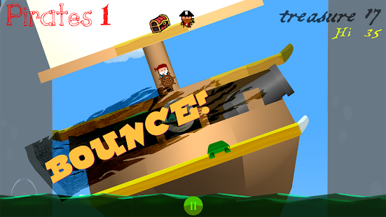 Bouncing Buccaneers: Balance the Barge for Booty!- screenshot thumbnail