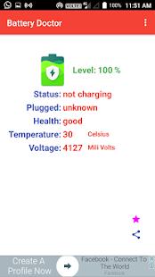 BatteryDoctor - náhled