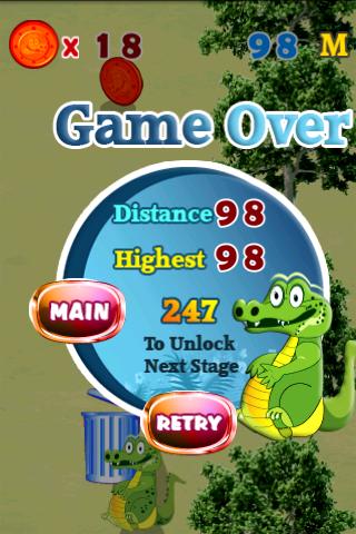 Скриншот Crocodile Game