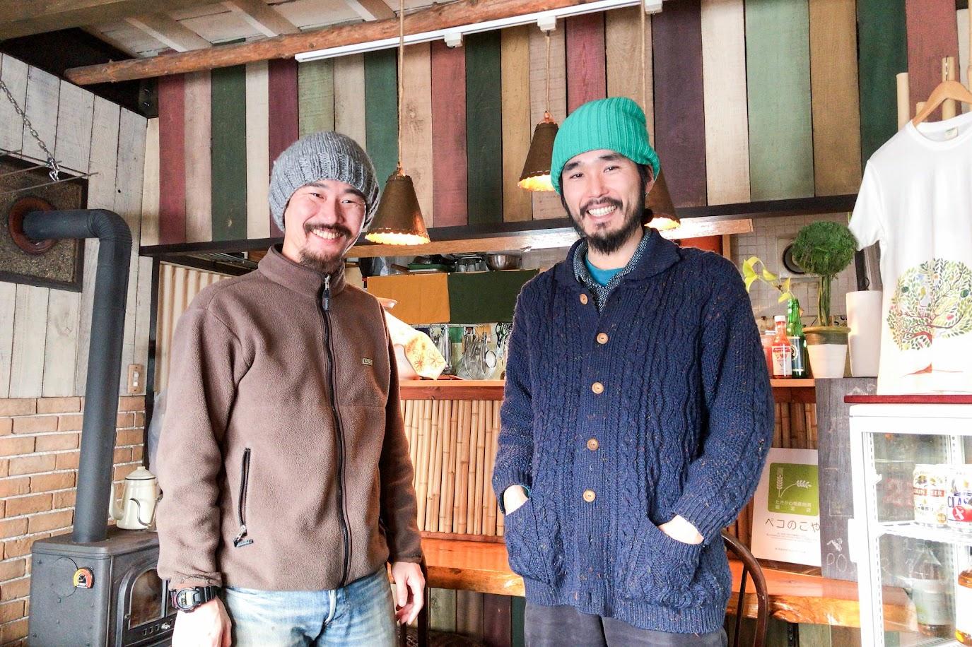右より:木曽宇法さん&島倉宏典さん