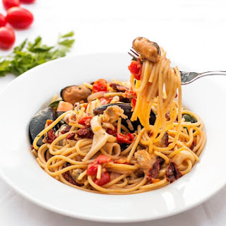 Seafood Pasta Fresh Tomatoes Recipes