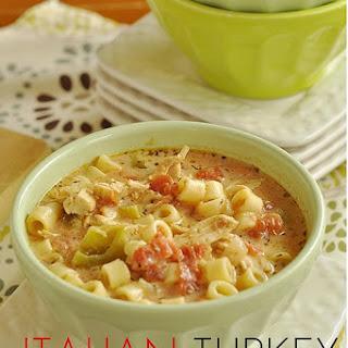 Italian Turkey Soup.