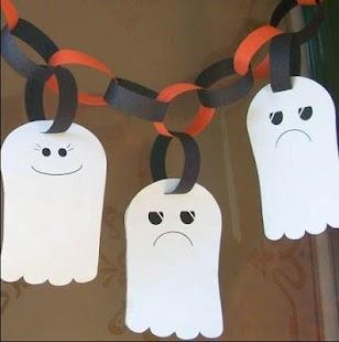 halloween crafts for kids screenshot thumbnail - Halloween Crafts Construction Paper