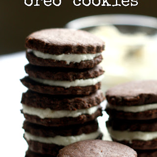 Chocolate Sandwich Cookies - gluten free and vegan