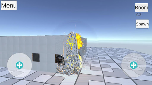 Destruction physics  trampa 1