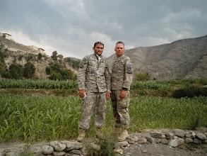 Photo: CPT Grant Delaware and Interpreter