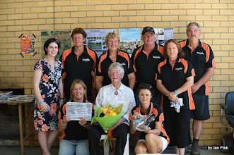 Photo: Committee with Emma Kealy and new life member Betty Pretlove
