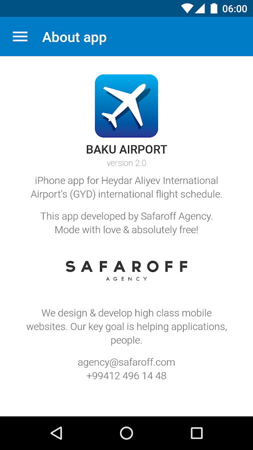 Baku Airport- screenshot