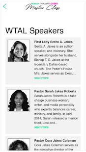 T D  Jakes Conferences – Apps on Google Play