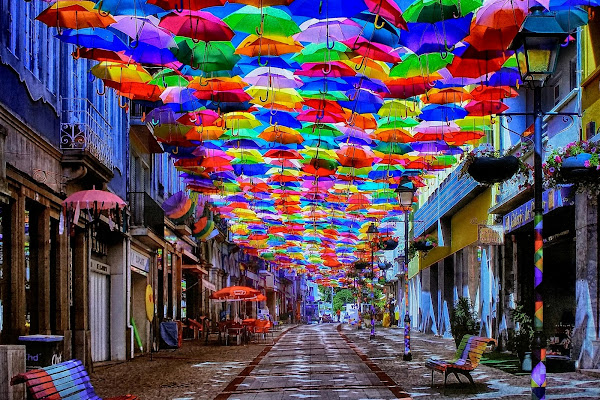 Ombrelli in strada di marvig51