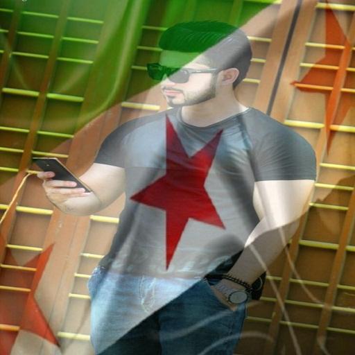 صورتك في علم الثورة السورية SyriaFree