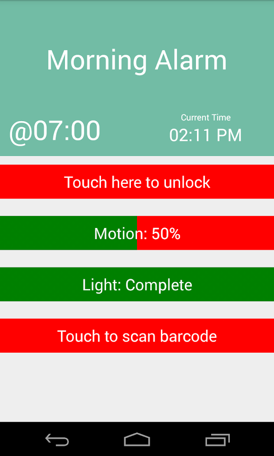 Eject Alarm Clock- screenshot