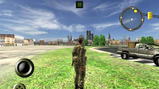 3D Army Nákladní doprava - náhled